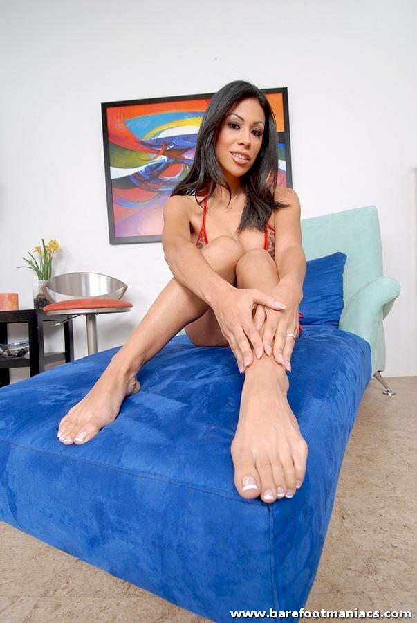 Natalie cruz footjob