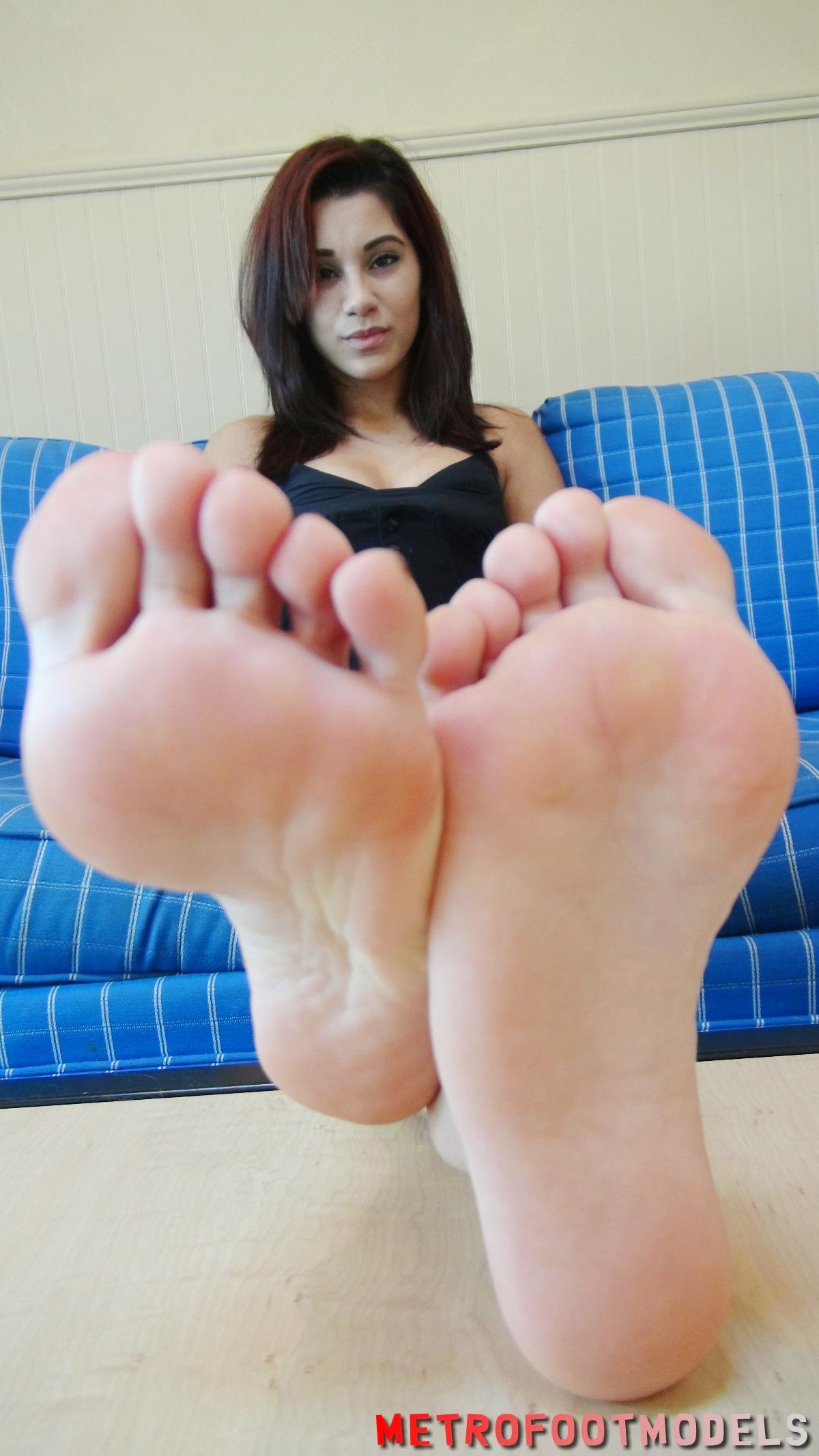 Sexy foot models