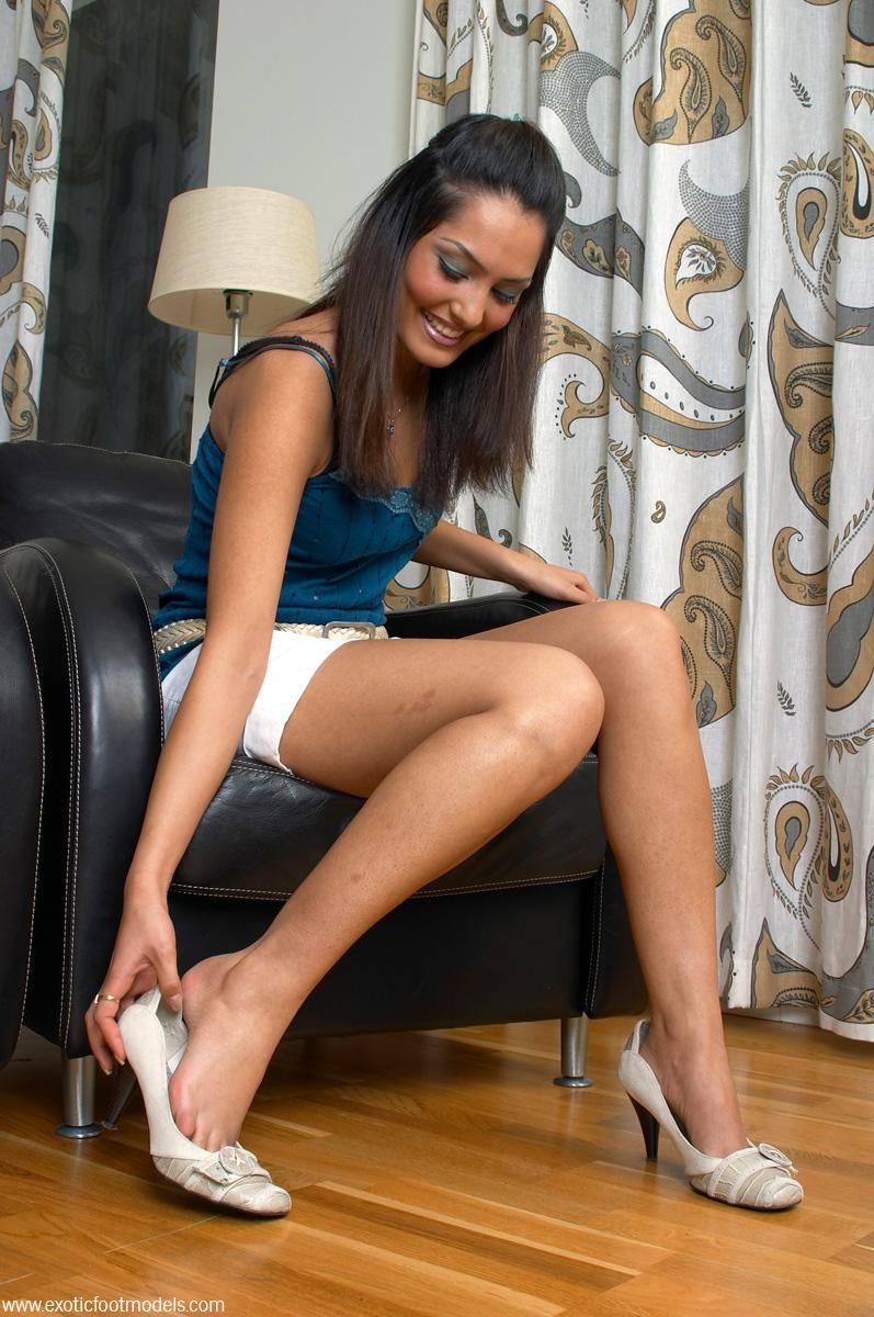 models Exotic foot